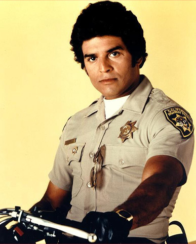 Officer Poncharello from CHiPs, played by Erik Estrada
