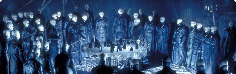 The Strangers from Dark City. Inspiration for the Guild of Calamitous Intent?