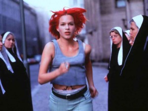 "You be the judge! This is Lola from the film ""Run Lola Run"", starring Franka Potente"