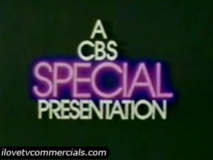 The CBS Special Presentation title.