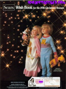 Cover of the real 1976 Sears Wishbook